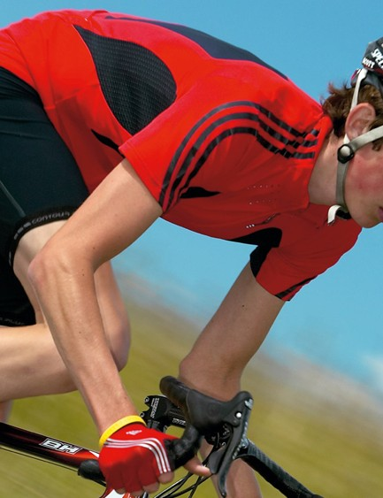By making your core stronger you can improve your cycling