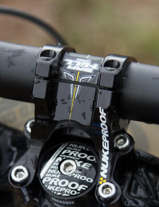 Nukeproof Sam Hill signature direct mount stem and handlebar