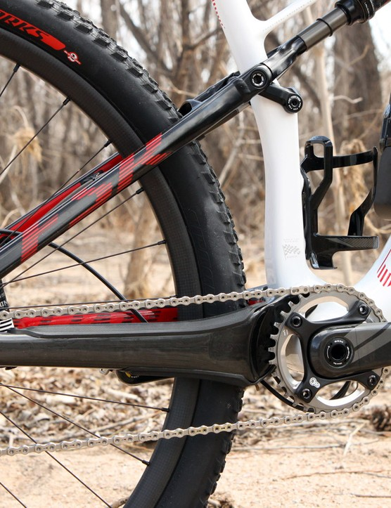 Unlike standard Specialized Epics, the Epic Expert Carbon World Cup will only work with 1x drivetrains thanks to its unique rear end