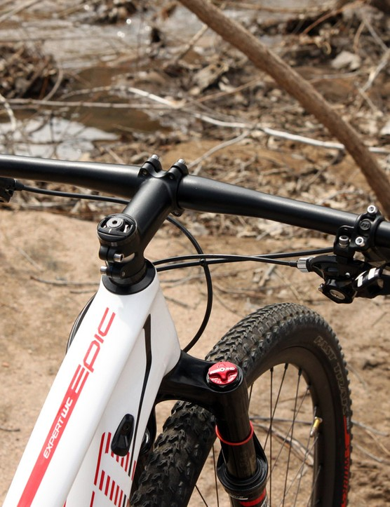The handlebars are usefully wide at 700mm from end to end but some riders will invariably want even more room