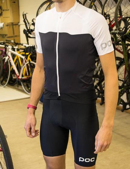 POC Essential jersey and bib shorts