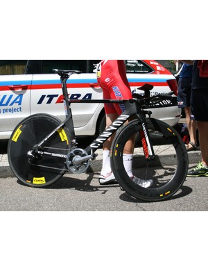 Dmitry Kozontchuk's (Katusha) Speedmax CF TT machine