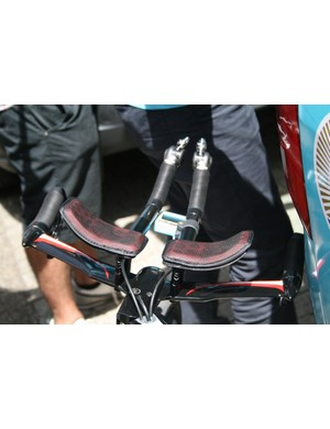 Vincenzo Nibali's (Astana) tidy cockpit. He finished eighth, 13 seconds down on Froome