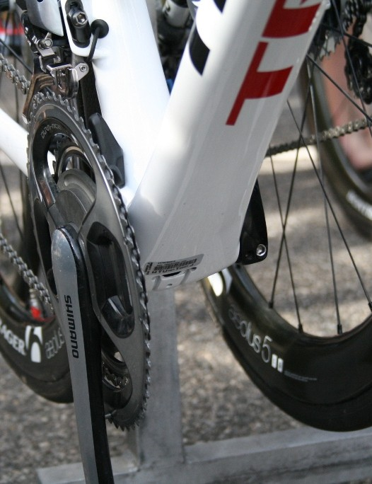 Expect the new Trek to use its ultra-wide BB90 bottom bracket standard