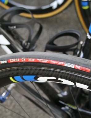NetApp-Endura opted for seriously wide 25-28mm tyres despite the hills that lay ahead
