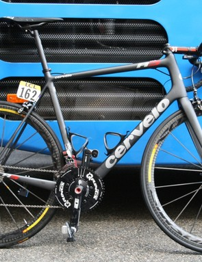 Froome had an 11-28 cassette on his spare bike