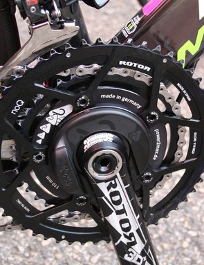 Rotor is a firm believer in ovalised rings but for those who are unconvinced, there are round No-Q rings. And there are plenty in the peloton who say No-Q works for them
