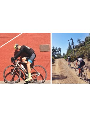 Specialized has begun previewing a new all-road/gravel bike called Diverge on various social media channels. The profile is similar to a traditional road racing bike but it's clearly meant to be more versatile