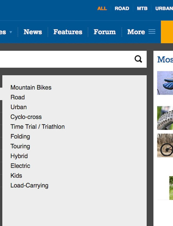 BikeRadar has more than 11,000 reviews available at your fingertips. Search by brand name, model name or category type by clicking the 'Reviews' tab at upper left