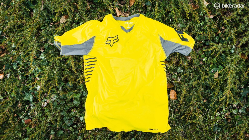 Fox Attack jersey