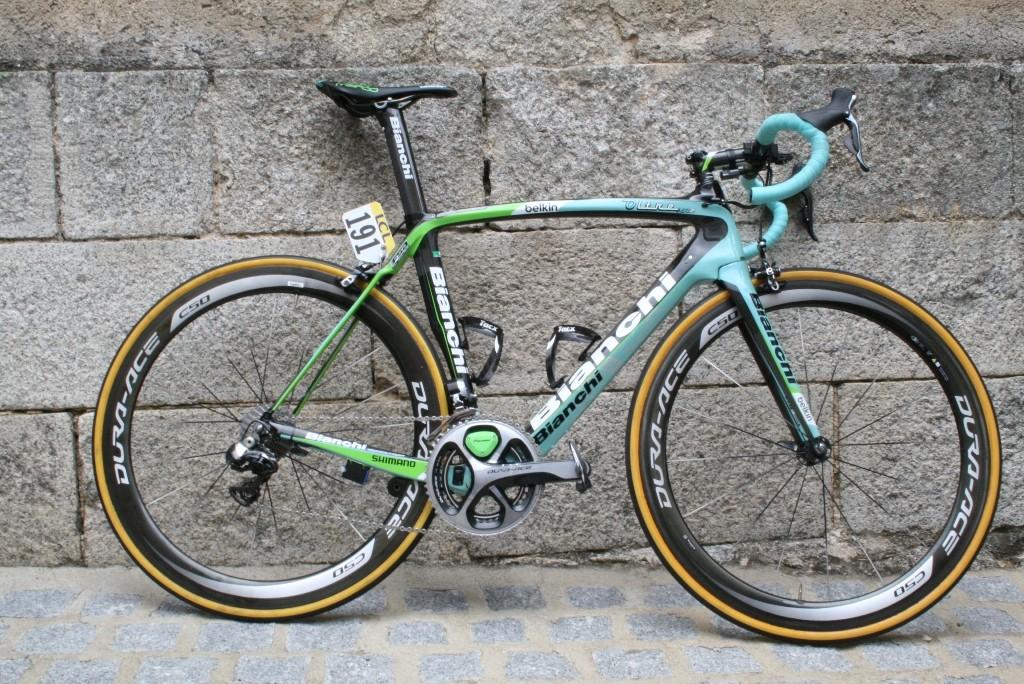 Wilco Kelderman's (Team Belkin) Bianchi Oltre XR2