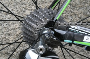 Kelderman carried over the 11-28 cassette from yesterday's medium mountain stage to Col du Béal