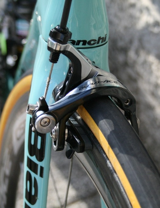 Shimano Dura-Ace 9000 brakes have been lauded for their stopping power