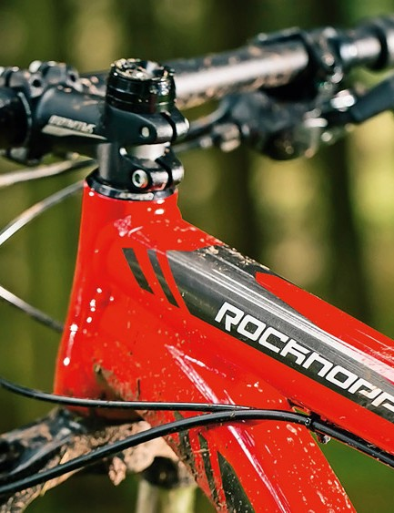 A tapered head tube means you can upgrade the fork if you want to