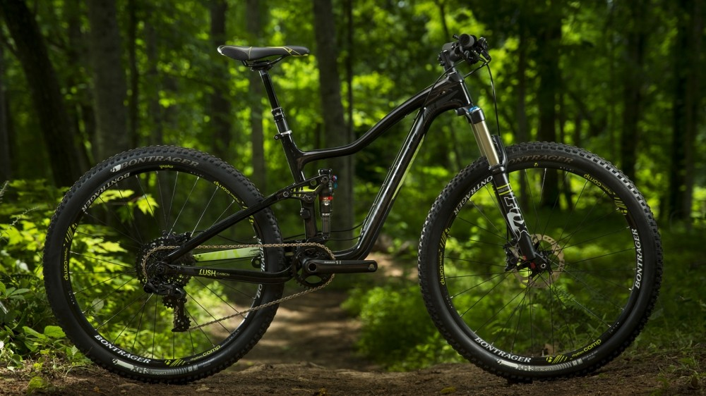 The women's counterpart to the Fuel EX, the Lush, will also be available with 27.5in wheels