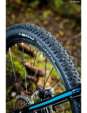 The Rapid Rob tyres are smooth and fast-rolling