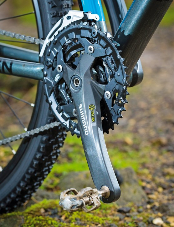 The cranks are Shimano Octalink numbers