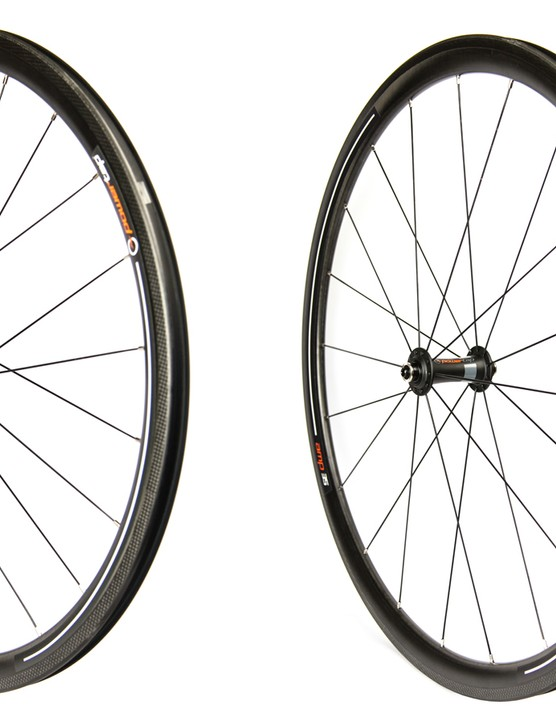 The new PowerTap AMP wheels are about two-thirds the price of other PowerTap wheels with carbon rims from ENVE or Zipp