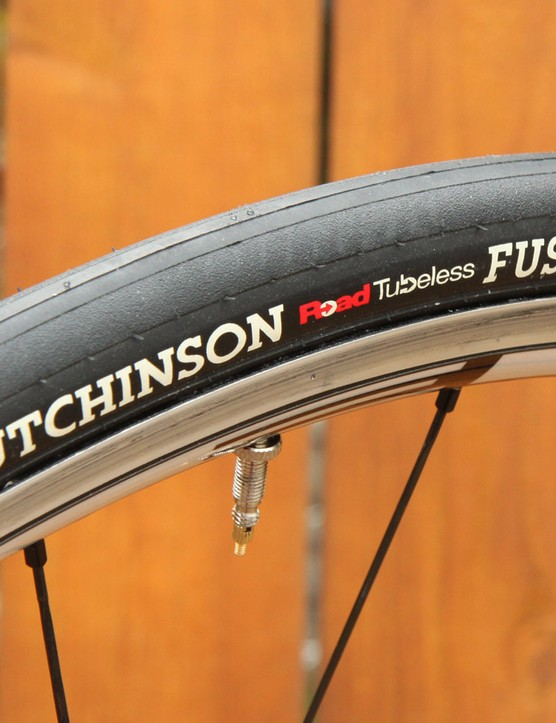 Hutchinson now offers the Fusion 3 Road Tubeless tyre in a 25mm-wide size