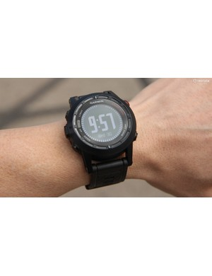 The Garmin Fenix 2 effectively packs the functionality of the company's handlebar-mounted GPS models into a watch