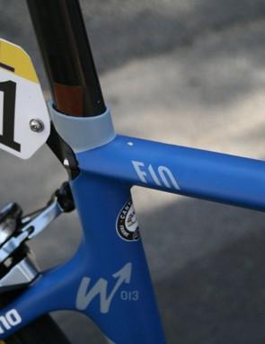 The W13 celebrates Moreno's win at La Flèche-Wallonne last year