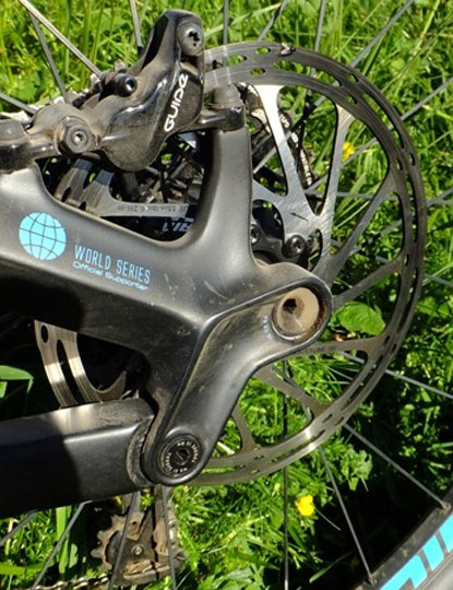 SRAM Guide RSC brakes provide ample stopping power
