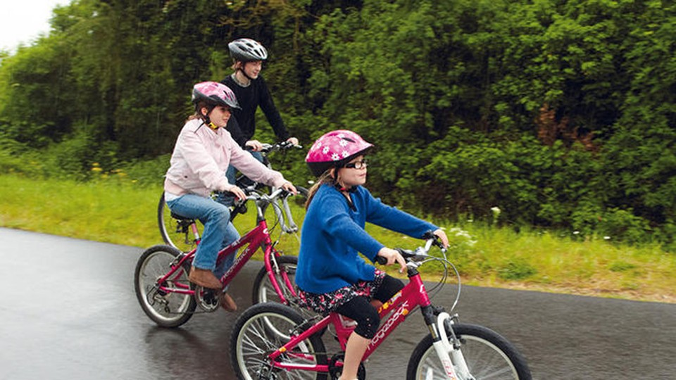 Kids' cycle safety is a hot topic at present