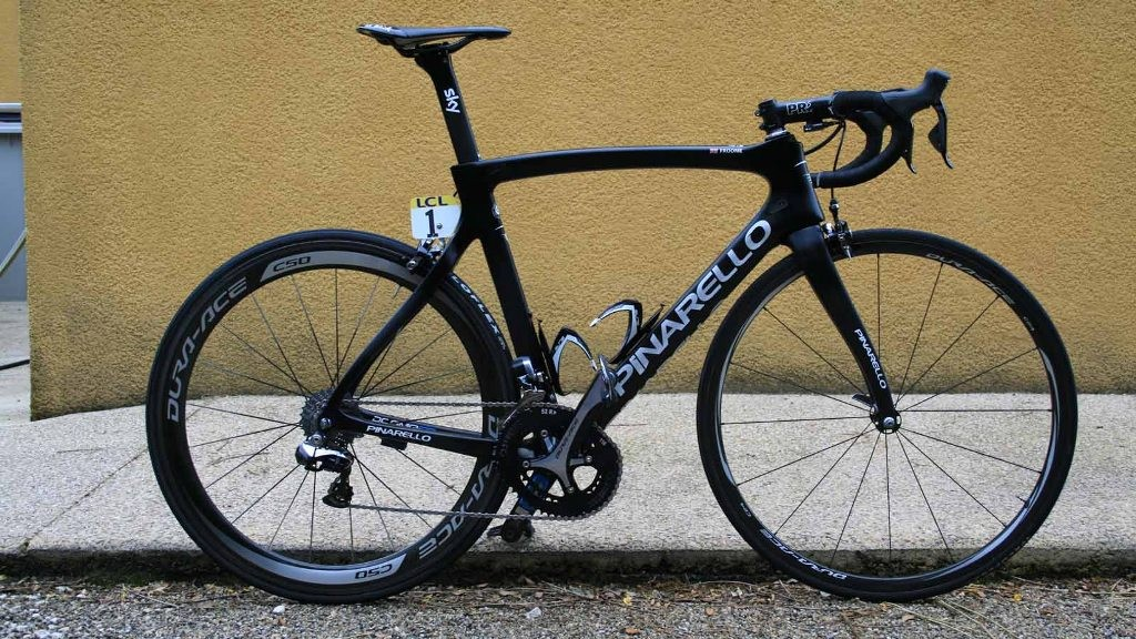 Chris Froome's new Tour de France bike: the Pinarello Dogma F8