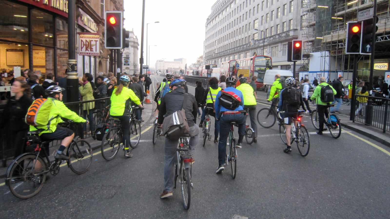 Transport for London has announced revisions to its Cycle Safety Action Plan
