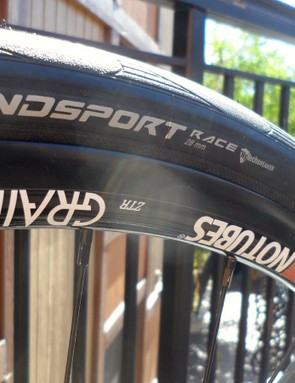 The new Stan's Grail road rims