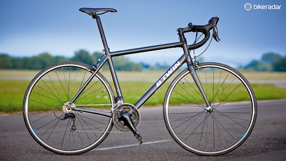 B'Twin Triban 5 Black - BikeRadar