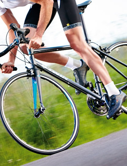 Despite the bargain-basement price, B'Twin's Triban 5 doesn't compromise on ride quality
