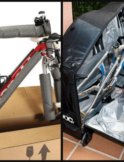 Whether you choose a bag or box, here's how to pack your bike for a trip abroad