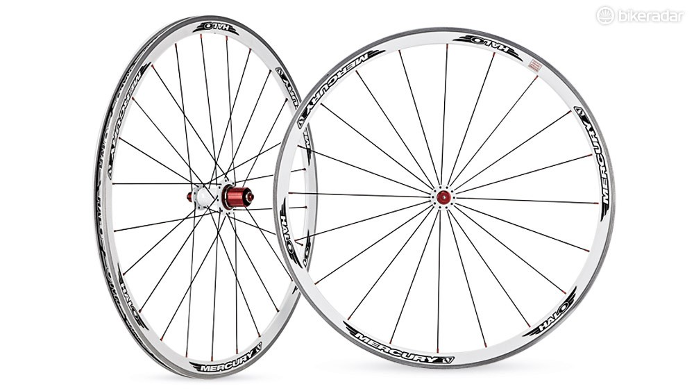 Halo Mercury 6D road wheelset