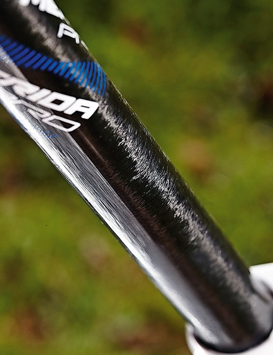 The narrow diameter carbon seatpost is just what you want