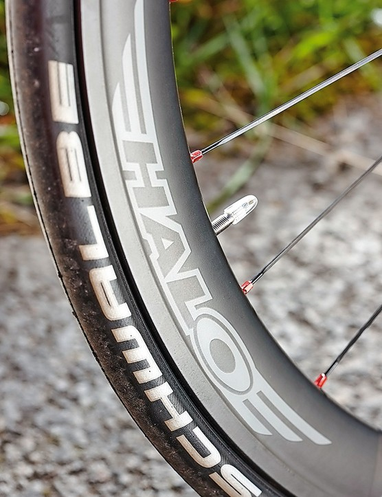A braking track adds versatility to the wheels
