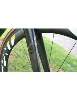 A pair of British hand-built carbon Spin wheels should roll true