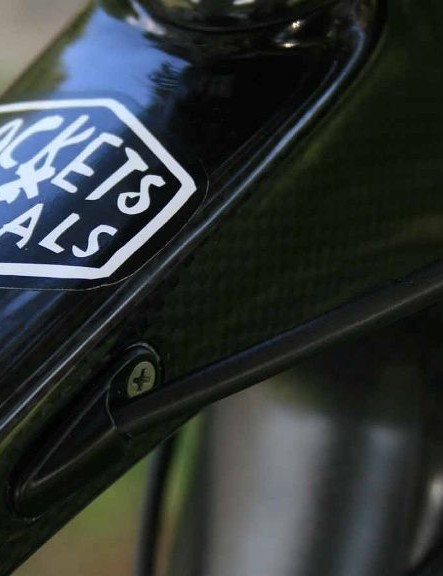The Deus Cycleworks bike is only available in the UK through Rockets & Rascals