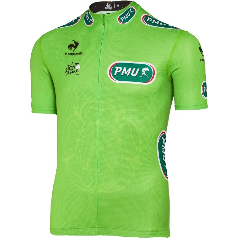 The green jersey for the most consistent finisher