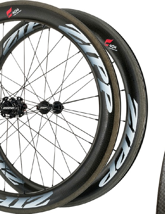 Zipp claims the Showstopper brake track on its new 404 Firestrike is better than any carbon wheel out there