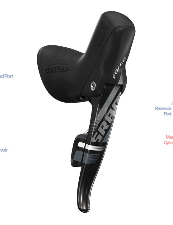 After a recall for weather-induced failure, SRAM reworked the internals of its HydroR levers