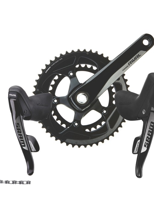The SRAM Rival 22 11-speed group