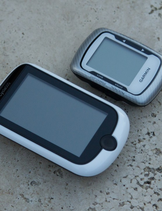 The Magellan Cyclo505 compared to the ever-popular Garmin 500 unit