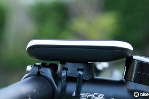 The unit also includes the older style mount, which still using zipties. We don't feel this is as good as Garmin's equivalent