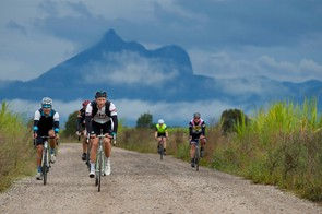 The 170km Rapha Gentlemen's course took riders over a variety of road surfaces