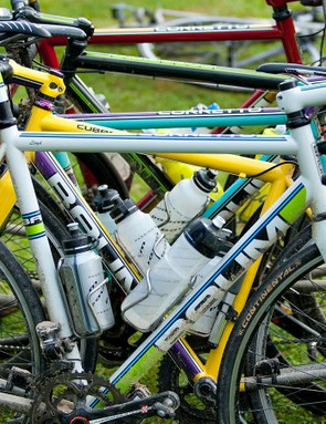 It doesn't get much more Aussie or boutique than a stack of Baum bicycles
