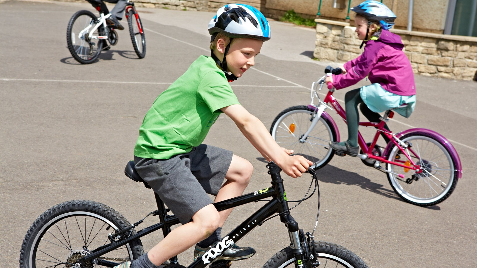 Most parents don't give their child's bike a yearly MOT
