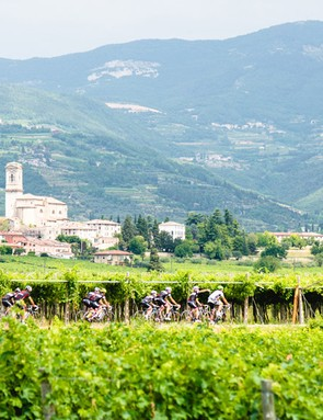 The hills around Verona offered ideal terrain to test out the Cayo