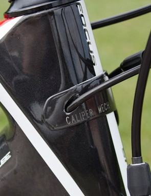 The Cable Routing Plate (CRP) lets users convert their frame from mechanical to electronic shifting