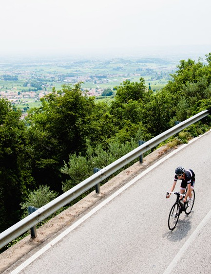 The descents offered plenty of opportunities to test out the disc brakes